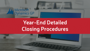 Year-End Closing Procedures