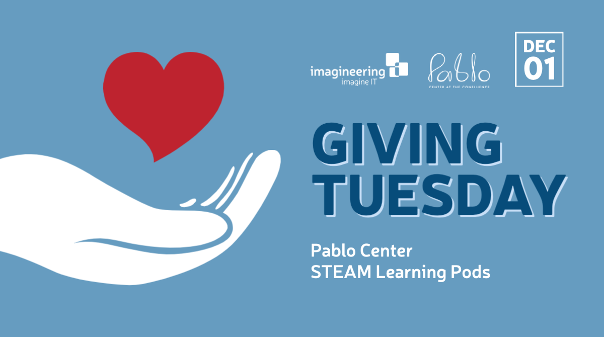 Giving Tuesday Pablo Center at the Confluence in Eau Claire, WI