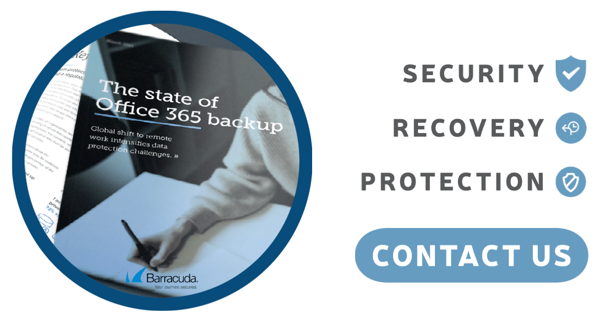Security, Recovery, and Protection with Barracuda Backups. Contact us!