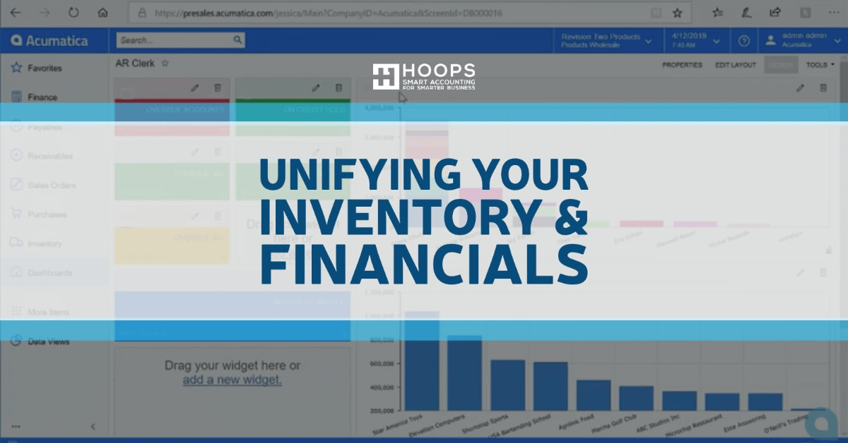 Unifying Your Inventory and Financials with Acumatica